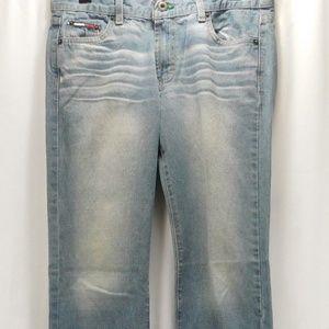 Tommy Hilfiger Womens 9 Junior Hip Jeans Vintage